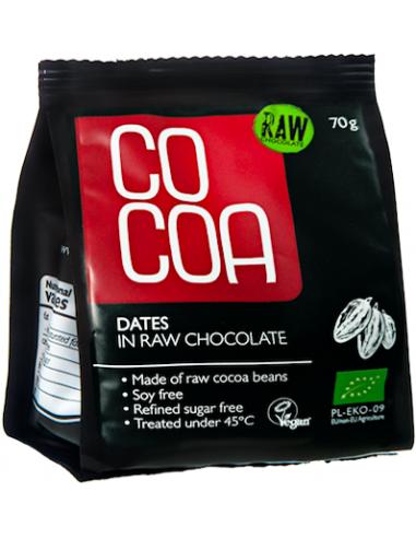 Datulės Raw Šokolade - EKO